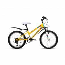 Велосипед Iris, желтый, 20