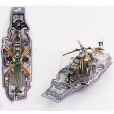 Игрушечный военный вертолет