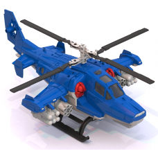 Пластиковый вертолет