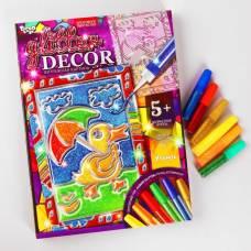 Набор креативного творчества «Витражная картина» серии «GLITTER DECOR» Утёнок Данко Тойс / Danko Toys