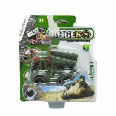Военный джип Races с ракетной установкой