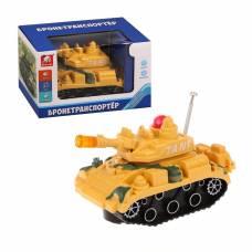 Бронетранспортер (свет, звук, вращение пушки) S+S Toys