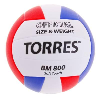 Волейбольный мяч Soft Touch BM800, 17 см, р. 5  TORRES