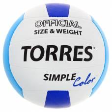 Волейбольный мяч Simple Color, 21 см, р. 5  TORRES