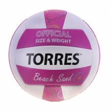 Волейбольный мяч Beach Sand Pink, р. 5  TORRES