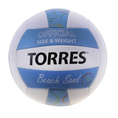 Волейбольный мяч Beach Sand Blue, р. 5  TORRES
