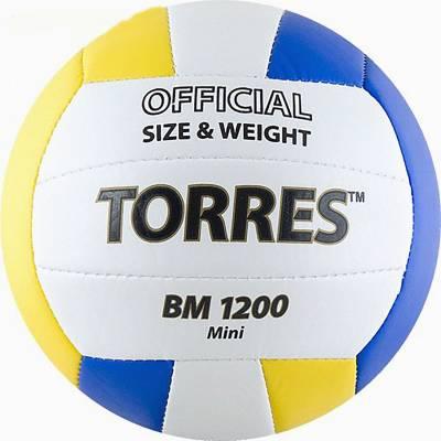Волейбольный сувенирный мяч BM 1200 Mini, размер 1  TORRES