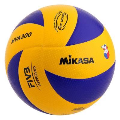 Мяч волейбольный Mikasa MVA300, размер 5, клееный Mikasa