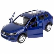 Инерционная машина Volkswagen Touareg, синяя, 12 см Технопарк