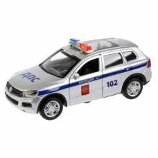 Инерционная машина Volkswagen Touareg - Полиция (свет, звук), 12 см Технопарк