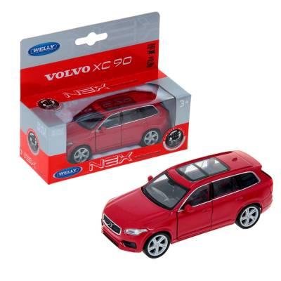 Коллекционная модель Volvo XC90, красная, 1:34-39 Welly