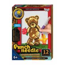 Ковровая вышивка Punch Needle - Медвежонок 1 Данко Тойс / Danko Toys
