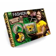 Набор для вышивки лентами Fashion Bag - Подсолнухи Данко Тойс / Danko Toys