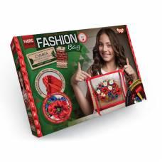 Набор для вышивки лентами и бисером Fashion Bag - Цветы  Данко Тойс / Danko Toys