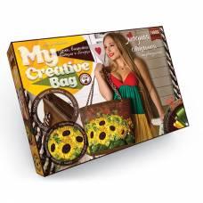 Набор для украшения сумки My Creative Bag - Подсолнухи  Данко Тойс / Danko Toys