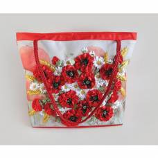 Набор для вышивки лентами и бисером My Creative Bag - Маки Данко Тойс / Danko Toys