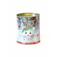 Шар новогодний из фоамирана Котенок Пушок Волшебная мастерская