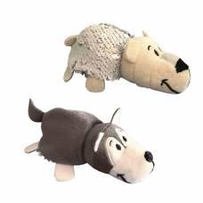 Мягкая игрушка Хаски-Полярный медведь