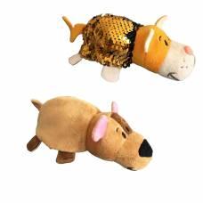 Мягкая игрушка Бульдог-Кот