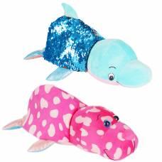 Мягкая игрушка Моржик-Голубой дельфин
