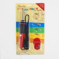 Выжигательный аппарат по дереву, набор: 6 насадок, подставка Лесная мастерская