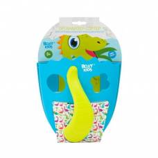 Органайзер-сортер для игрушек Dino, голубой Roxy-Kids