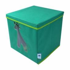 Контейнер для хранения с крышкой и прозрачным окном Store It Жираф