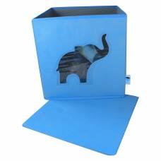 Контейнер для хранения с крышкой и прозрачным окном Store It Слон