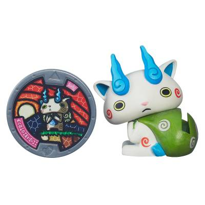 Фигурка Yo-Kai Watch с медалью - Komasan Hasbro