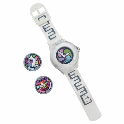 Часы Yo-Kai Watch с 2 медалями Hasbro