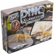 Набор для раскопок Dino Excavation - Трицератопс и брахиозавр Данко Тойс / Danko Toys