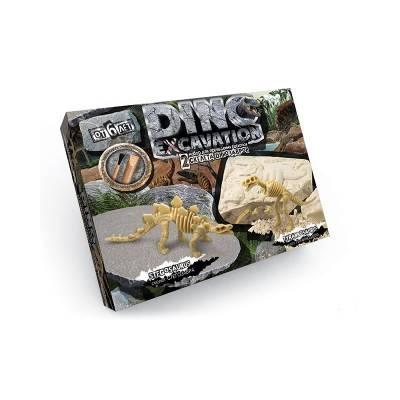 Набор юного палеонтолога Dino Excavation - Стегозавр и Тираннозавр Данко Тойс / Danko Toys