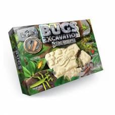 Набор для раскопок Bugs Excavation - Насекомые, 6 видов Данко Тойс / Danko Toys