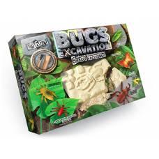 Набор для раскопок Bugs Excavation - Насекомые (жуки и пауки) Данко Тойс / Danko Toys