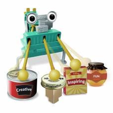 Набор для создания робота Eco-Engineering - Робот барабанщик 4M