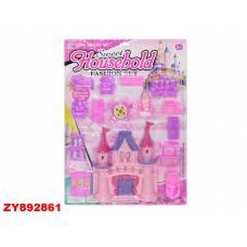 Замок для кукол Sweet Housebold с мебелью Shantou