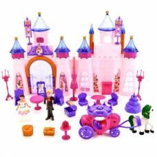 Игровой набор Beauty Castle - Замок с фигурками и аксессуарами (свет, звук) Shantou