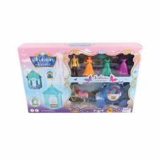 Игровой набор Fashion Castle (свет, звук), голубой Shantou