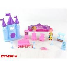 Замок для кукол My Dreamy Castle с мебелью Shantou