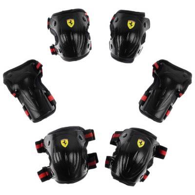 Защита роликовая FERRARI, р. М, цвет черный Ferrari