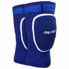 Наколенники волейбольные р.М, цвет синий ONLITOP