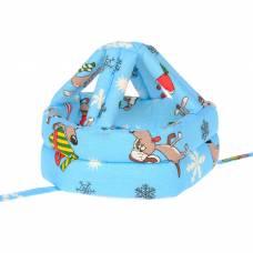 Шапка-шлем противоударный для детей, цвет Табити