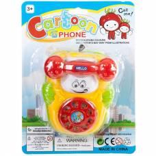 Заводной телефон на колесах Cartoon