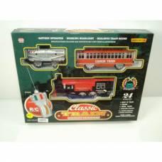 Радиоуправляемая железная дорога Classic Train (свет, звук)