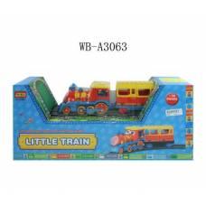 Железная дорога с паровозом (свет, звук) Shantou