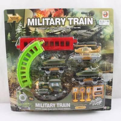 Железная дорога Military с техникой