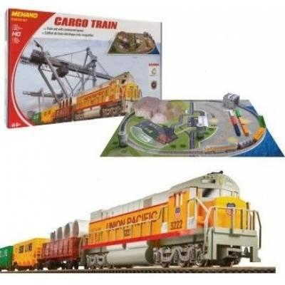 Железная дорога р/у Cargo Train с ландшафтом (свет), 1:87  Mehano