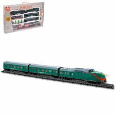 Железная дорога «Вокзал», световые и звуковые эффекты, длина пути 325 см, 4 вагона S+S Toys