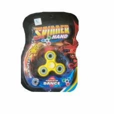 Спиннер Dance с тремя подшипниками, желтый Junfa Toys
