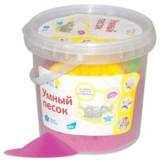 Набор для лепки Genio Kids - Умный песок, розовый, 1 кг Dream Makers